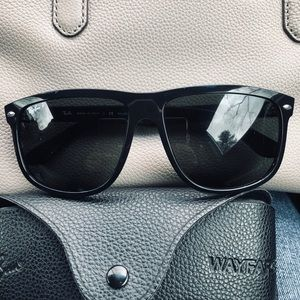 Ray Ban wayfarer polarized sunglasses